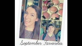| September 2013 Favorites | Thumbnail