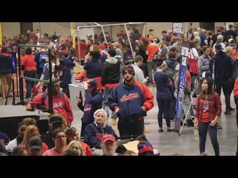 Yonder Alonso undercover at TribeFest 2018