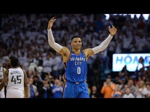 Thunder Comeback Down 25! Westbrook 45 Pts! 2018 NBA Playoffs
