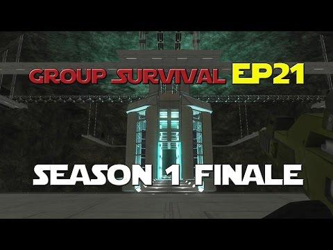 Space Engineers - Group Survival Series - Ep 21 - Season 1 Finale