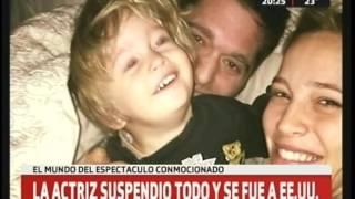 Hijo de Luisana Lopilato da pelea a grave enfermedad