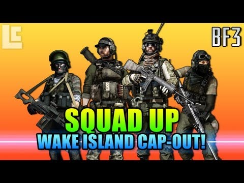 Squad Up - Wake Island Cap-Out! (Battlefield 3 Gameplay/Commentary)