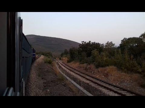 Vožnja brzim vlakom 821 Zagreb-Split//Train ride to Split