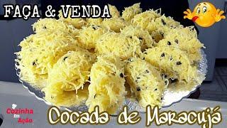 Faça & Venda - Cocada Cremosa De Maracujá