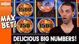 👍 BIG Numbers = BIG Happy! 😀 Max Betting Lightning Link ⚡ ✦ BCSlots