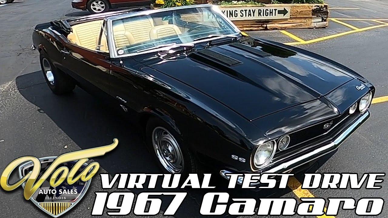 1967 Chevrolet Camaro Virtual Test Drive at Volo Auto Museum (V19020)