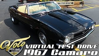 1967 Chevrolet Camaro Virtual Test Drive at Volo Auto Museum (V19020)