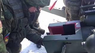 Финальные тренировки салютных расчетов к празднованию Дня защитника Отечества в Воронежской области