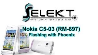 Flash Nokia C5-03 (RM-697) Latest Software with Phoenix / Wgrywanie oprogramowania  | Selekt