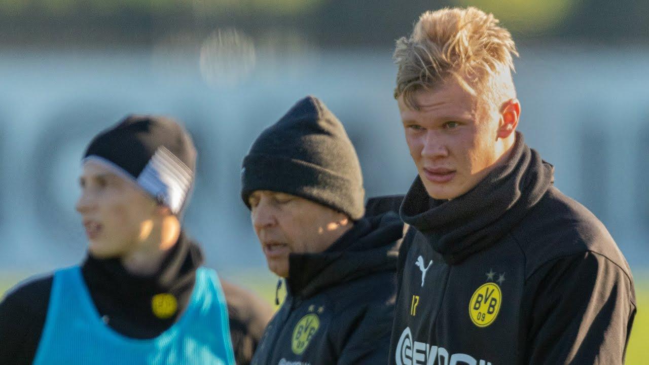 Eindrücke vom BVB-Training am 21.01.2020