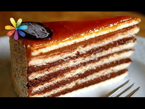 Торт добош видео