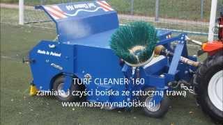 Turf Cleaner 160   czyszczenie boiska,
