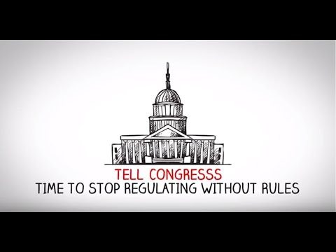 Stop the SEC's Regulating without Rules – Financial Services