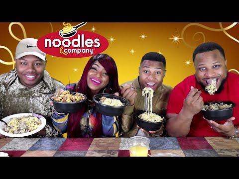 Noodles & Company, Spicy Chipotle Pork Adobo, Beef Stroganoff