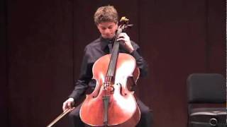 Daniel Hass (13) - Bach's Cello Suite No. 1
