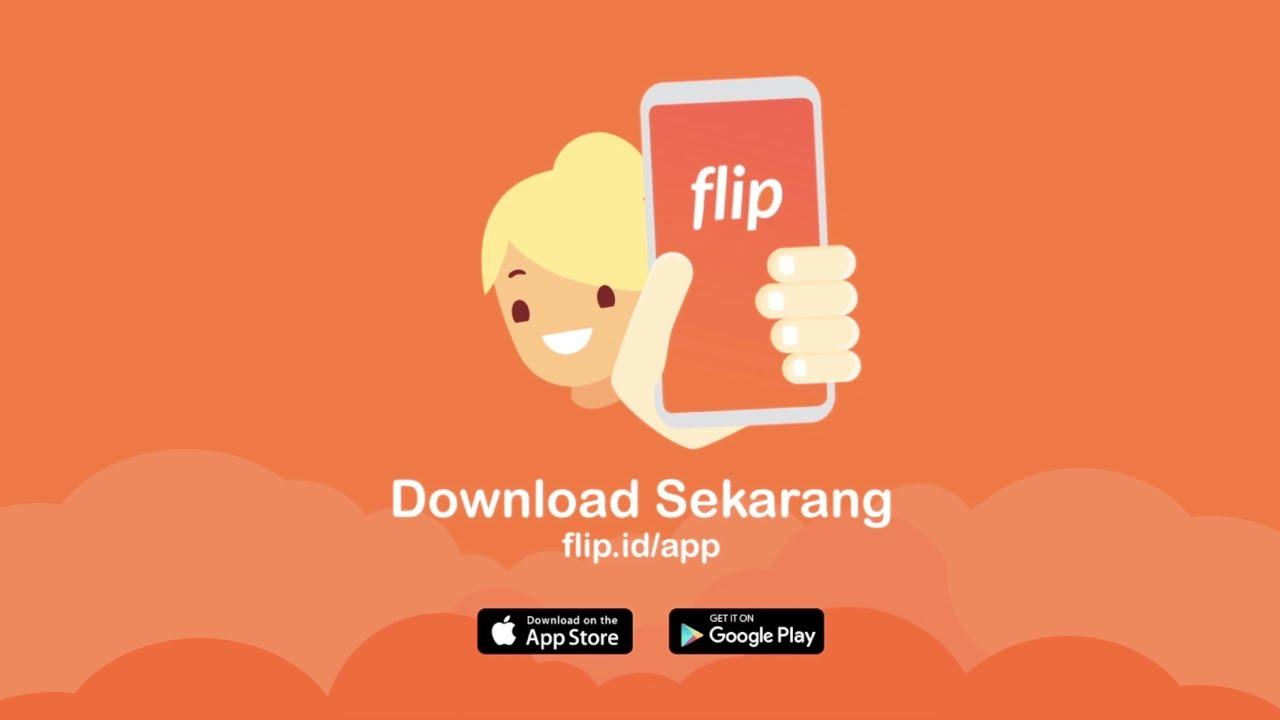 Download Flip - Transfer Antar Bank Tanpa Biaya Admin