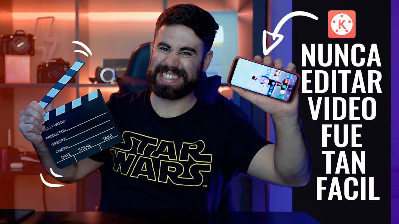 🎬 Cómo EDITAR vídeos en el 📲 MÓVIL [👉 La Mejor App]