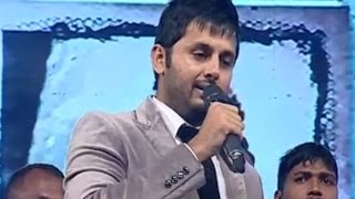 Nitin Full Length Speech @ Chinnadana Neekosam Audio Launch