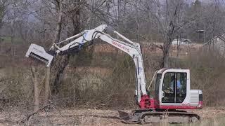 DAH-085B - Mulcher for mini-excavators (8 to 10 tons)