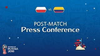 FIFA World Cup™ 2018: Poland v. Colombia - Post-Match Press Conference