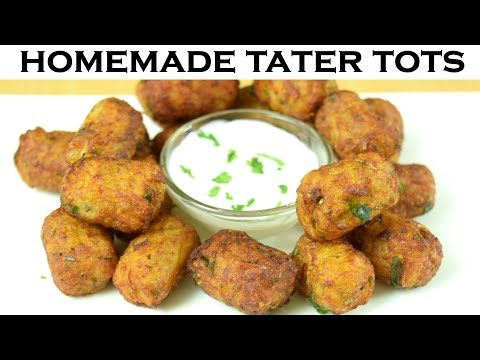 Tater Tots| Homemade Crispy Tater Tots| Easy Evening Snacks| Yummylicious