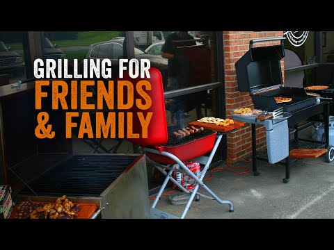 Grilling For A Crowd