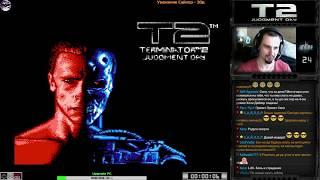 Terminator 2: Judgment Day прохождение | Игра на (Dendy, Nes, Famicom, 8 bit) 1992 Стрим HD [RUS]