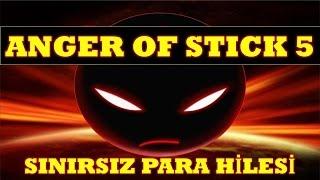 ANGER OF STİCK 5 HİLE SINIRSIZ PARA HİLESİ MAĞAZA CRACK MOD APK İNDİR