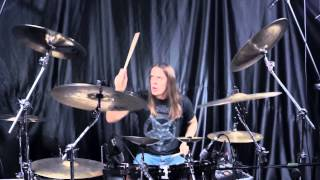 Artur Konarski - The Sixpounder - Burn (drum video)