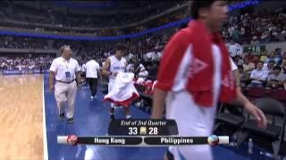 FIBA Asia Championship: Gilas Pilipinas versus Hong Kong