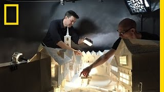 How We Built London Entirely From Paper (Behind The Scenes)