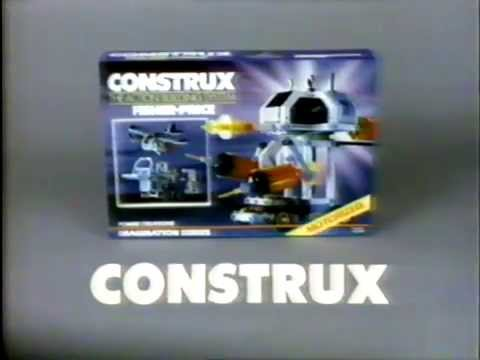 Construx - Vintage Toy - TV Toy Commercial - TV Spot - TV Ad - Fisher Price - 1985