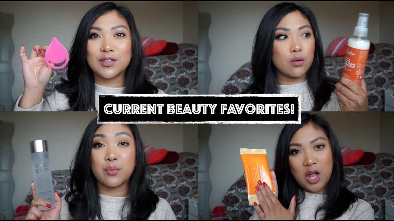 a705a689499 CURRENT BEAUTY FAVORITES: Jan/ Feb 2017 | MakeupInSFC - YouTube