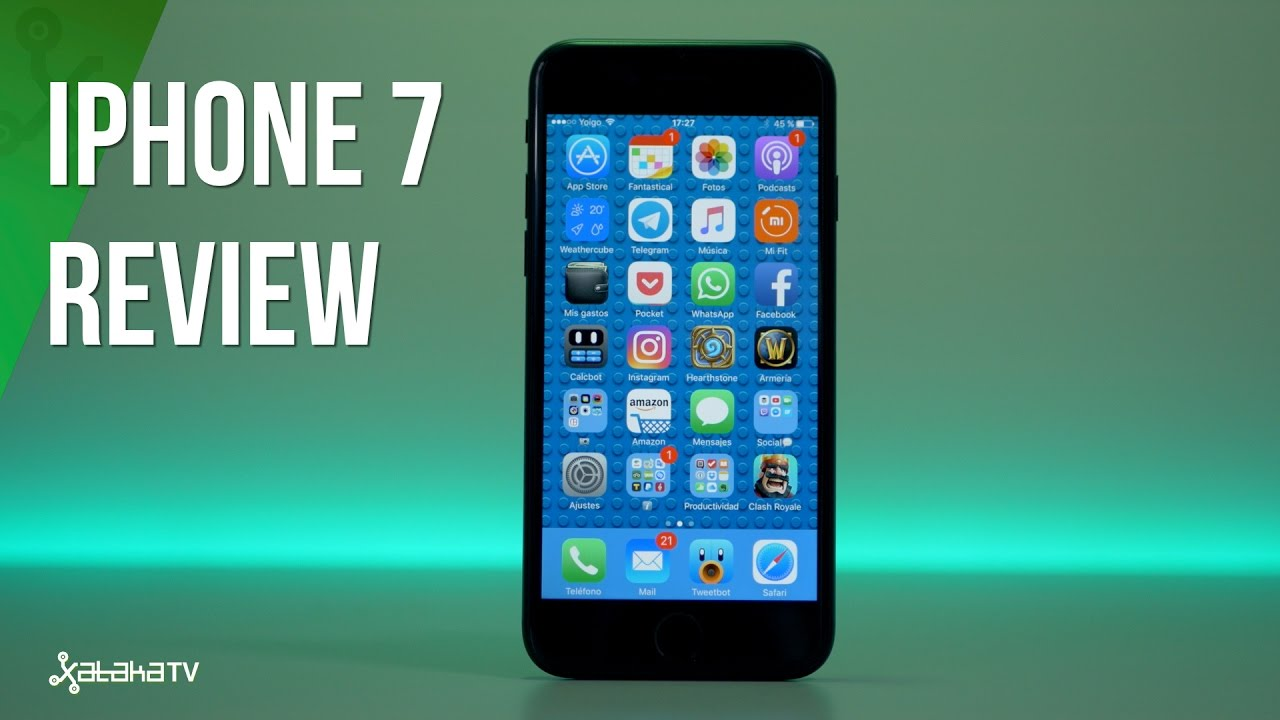 7c00c1b9998 iPhone 7, análisis. Review con características, precio y especificaciones.