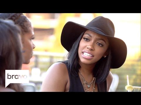 RHOA: Kenya Moore Confronts Porsha Williams About Anger Management (Season 9, Episode 11) | Bravo