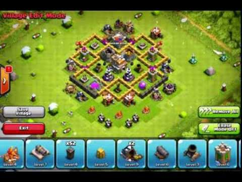 Clash of clans 3 best town hall level 6 base designs variations