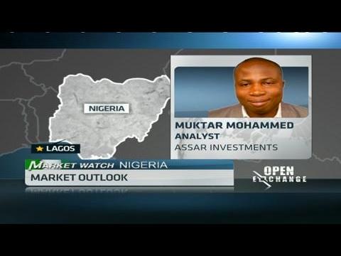 Nigeria's equities market down 0.6%