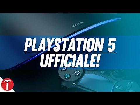 PLAYSTATION 5 (PS5) PRIME INFORMAZIONI UFFICIALI