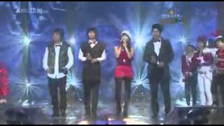 Super Junior,SNSD,Wonder Girls,SG Wannabe & Big Bang sing Christmas Songs
