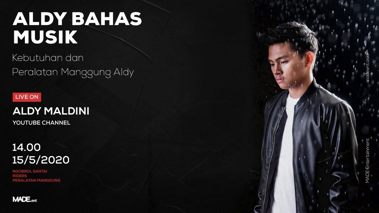 Aldy Bahas Musik - Peralatan Manggung Aldy