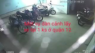 Camera TROTECH Trộm xe máy năm 2018 tại 1 khách sạn q12