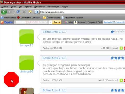 Descargar ares gratis y en espa ol youtube for Descarga are