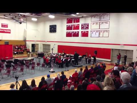 Laingsburg Middle School 8th Grade Band Holiday concert
