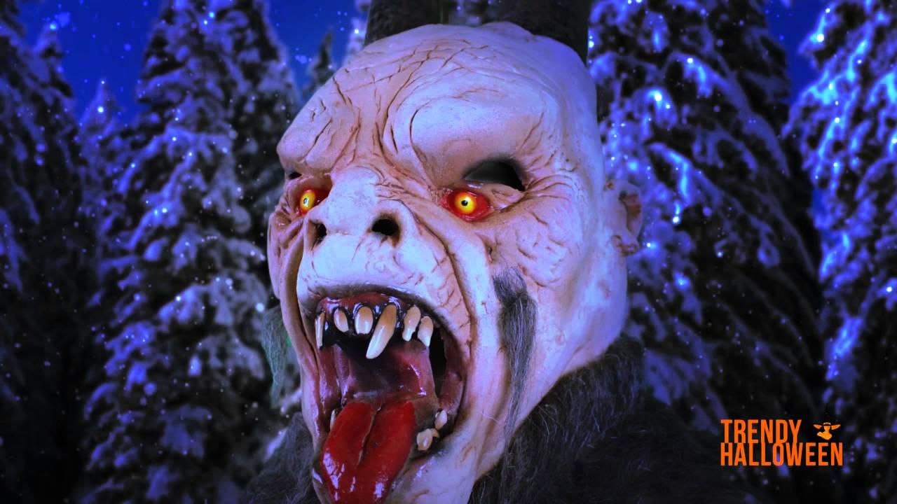 99175fed31eb Krampus Demon Mask via Trendy Halloween - YouTube