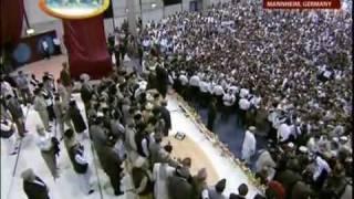 Größte Muslimische Versammlung Deutschlands - Abschlussszene - Islam Ahmadiyya