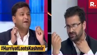 Hurriyat Leaders Would Always Want Blood To Flow Accuses Major Gaurav Arya