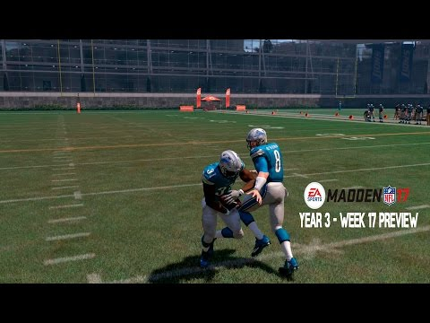 PLAYOFF CLINCHING SCENARIOS - Madden 17 Franchise: Detroit Lions | Y3, W17 League Preview