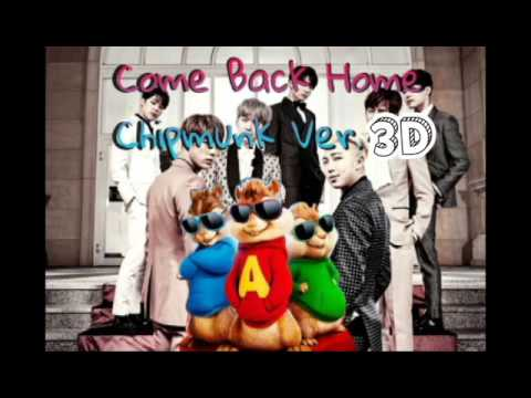BTS - Come Back Home(Chipmunks Ver. in 3D) USE HEADSET