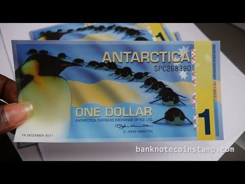 Antarctica 1 Dollar Banknotes