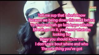 Denyque ft Konshens-Make me believe you Lyrics